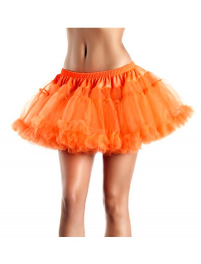 12 Orange 2-Layer Petticoat