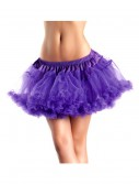 12 Purple 2-Layer Petticoat