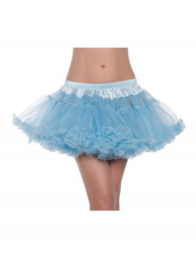 12 Sky Blue 2-Layer Petticoat