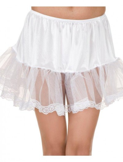 Lace (White) Petticoat Adult