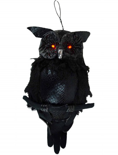 19 In Hanging Owl w/ Light Up Eyes