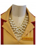 2 Broke Girls Caroline's Pearl Necklace