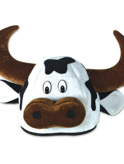 Cow Head Party Hat Adult