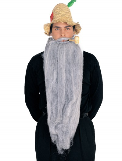 25-inch Long Beard & Mustache Set