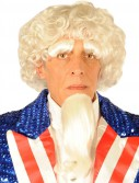 Uncle Sam Wig/ Goatee/ Eyebrows