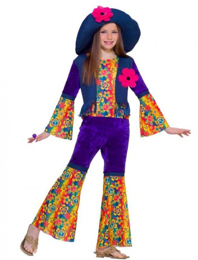 Flower Child Child Costume