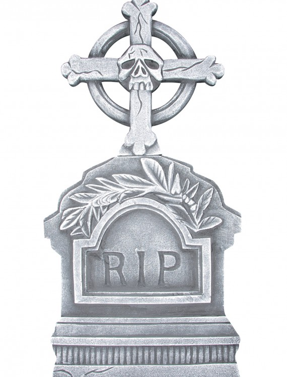 36 Two Piece RIP Tombstone