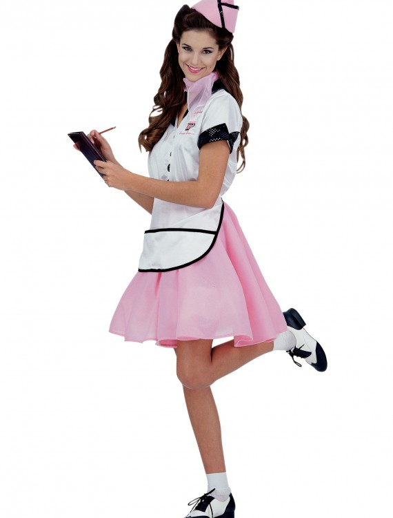 50s Soda Pop Girl Costume