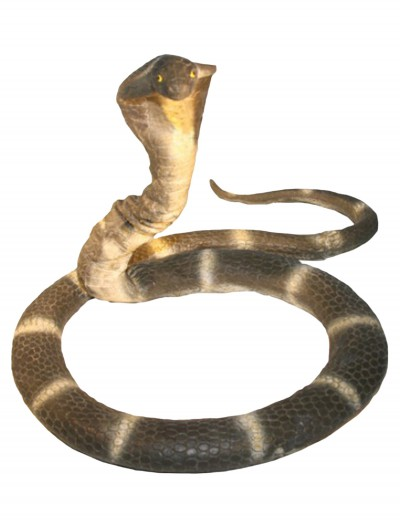 6 Foot Foam Cobra Snake