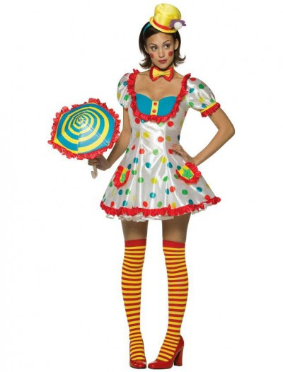 Clown (Female) Adult Costume