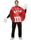 MMs Red Poncho Adult Costume