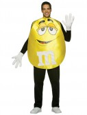 MMs Yellow Poncho Adult Costume