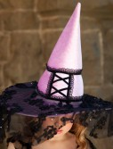 Lacy Witch Child Hat