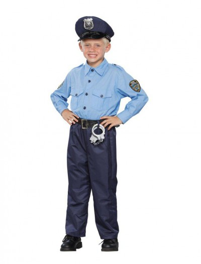Deluxe Policeman Child Costume