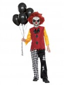 Last Laugh Clown Child Costume