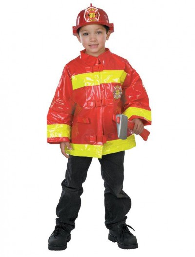Red Firefighter Child Costume