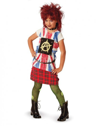 80's Punk Child Costume