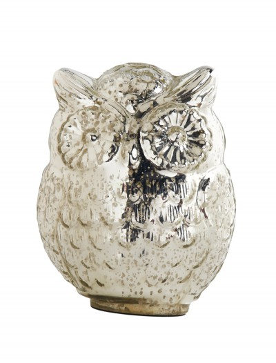 7.5 Inch Mercury Owl w/ Large Eyes