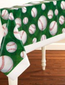 Team Sports Baseball - Plastic Tablecover