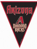 Arizona Diamondbacks Baseball - 12' Pennant Banner