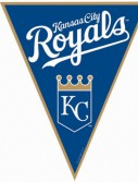 Kansas City Royals Baseball - 12' Pennant Banner