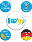 Oktoberfest - Party Buttons (5 count)