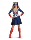 Transformers 3 Dark Of The Moon Movie - Optimus Female Classic Adult Costume