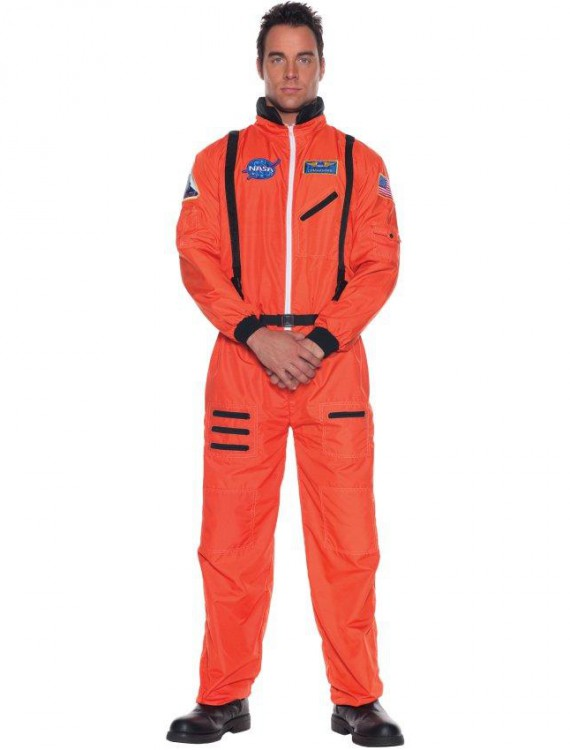Astronaut (Orange) Adult Plus Costume