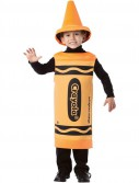 Crayola Outrageous Orange Crayon Child Costume