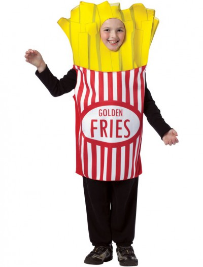 French Fries Child Costume