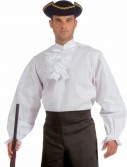 Ruffled White Shirt Adult
