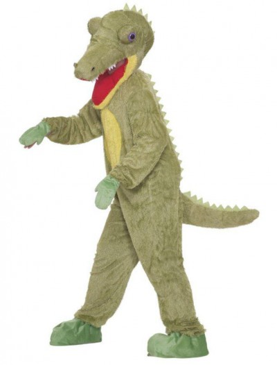 Crocodile Plush Adult Costume