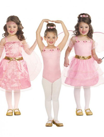 3-in-1 Renaissance Princess / Ballerina / Flower Fairy Child Costume