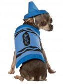Crayola Blue Crayon Pet Costume