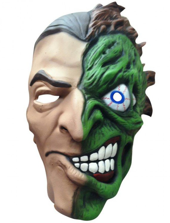 Batman DC Rogues Gallery Two-Face Adult Mask