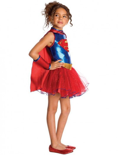 Supergirl Tutu Child Costume
