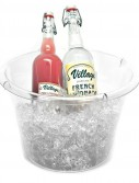 Clear Extra Large Ice Bucket