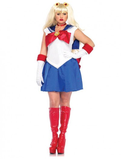 Sailor Moon Deluxe Adult Plus Costume