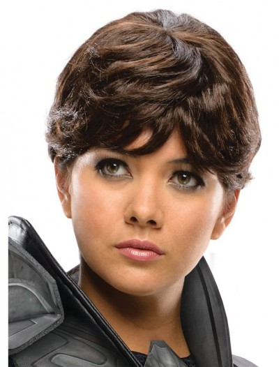 Superman Man of Steel Faora Adult Wig