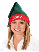 Elf Embroidered Hat One Size Fits Most