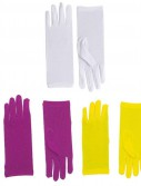 Short Dress Adult Gloves - Clearance Colors