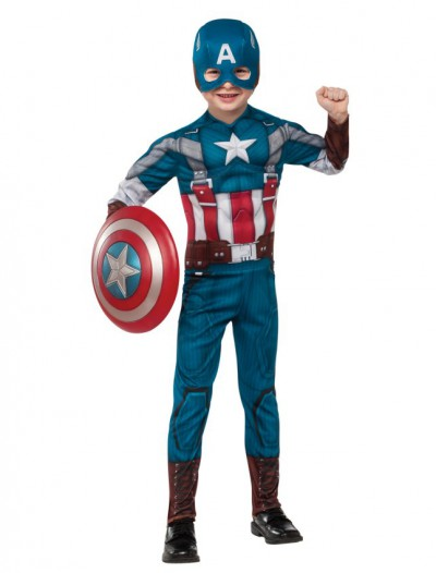 Captain America The Winter Soldier Deluxe Retro Child Costume