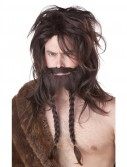 Brown Viking Wig