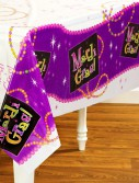 Mardi Gras Beads - Plastic Tablecover