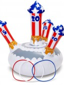 Patriotic Fireworks Ring Toss Game