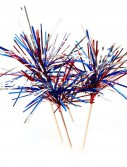 Patriotic Firework Picks