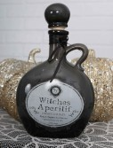 8.5 Witch's Black Potion Bottle