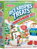 Kellogg's Rice Krispies Treats Snowman Kit