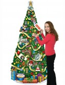 Jointed Christmas Tree Cutout