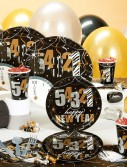 New Year's Wild Countdown Deluxe Party Kit